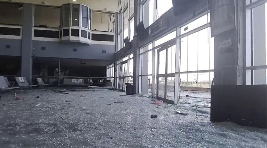 large jemen letisko vybuch ce
