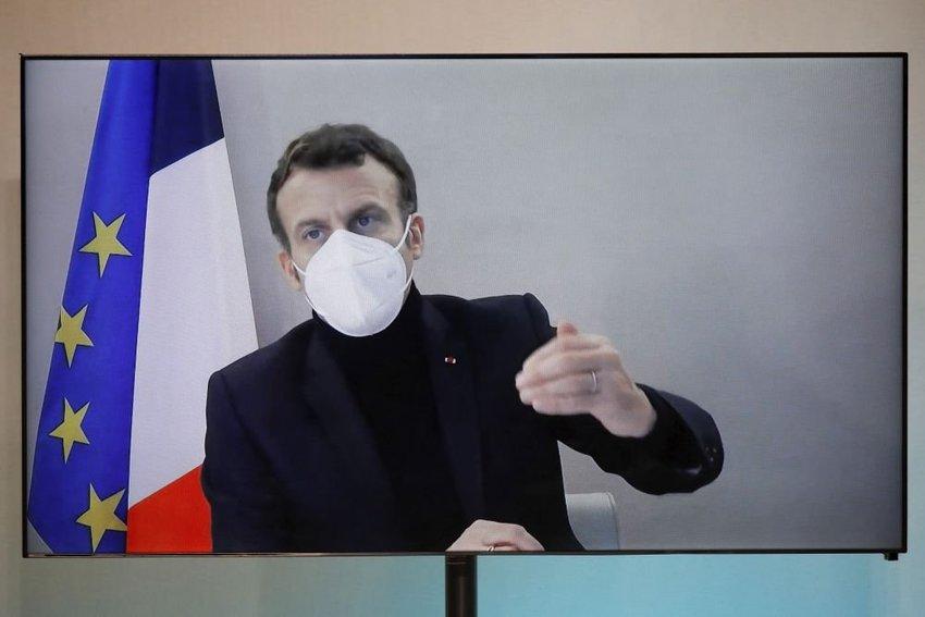 large Emmanuel Macron bdfce