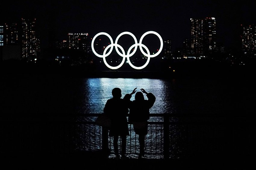 large Japan Olympics Tokyo Rings Return  aadfffabfdcec fbee
