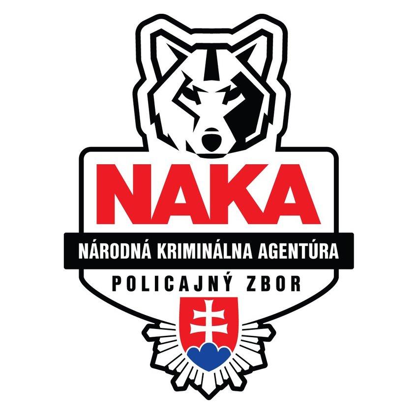 large NAKA logo cade