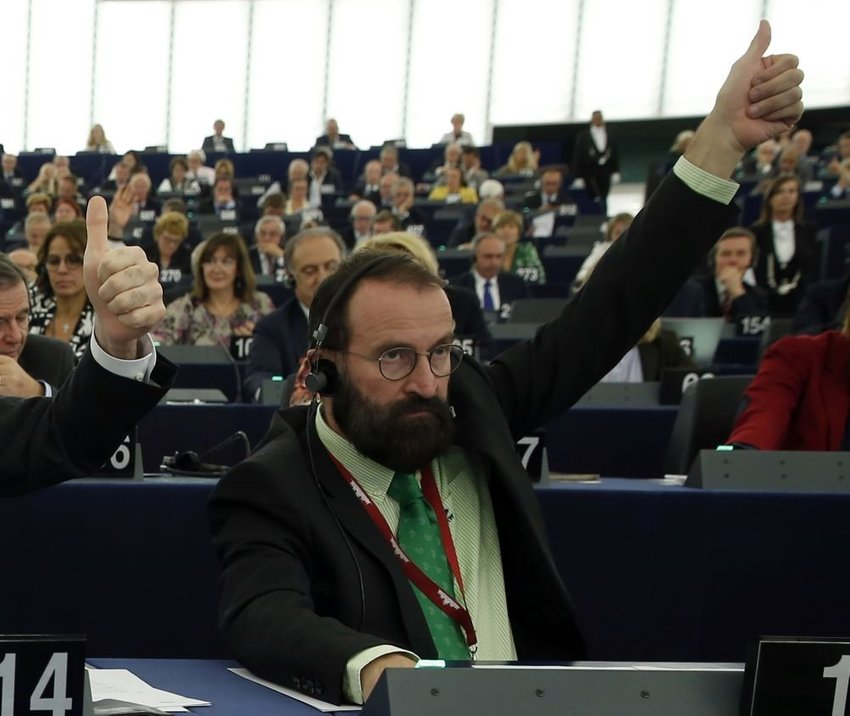 large europoslaenc madarsky da