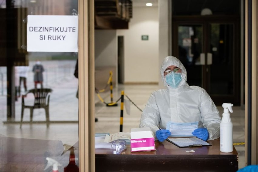 large koronavirus testovanie ccbefe