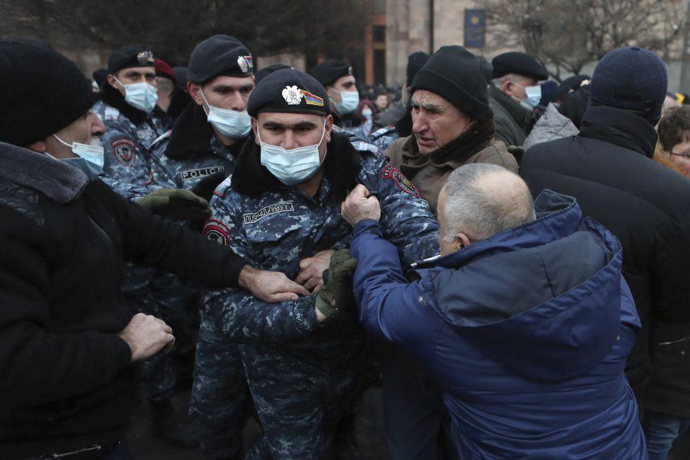 Arménsko protest
