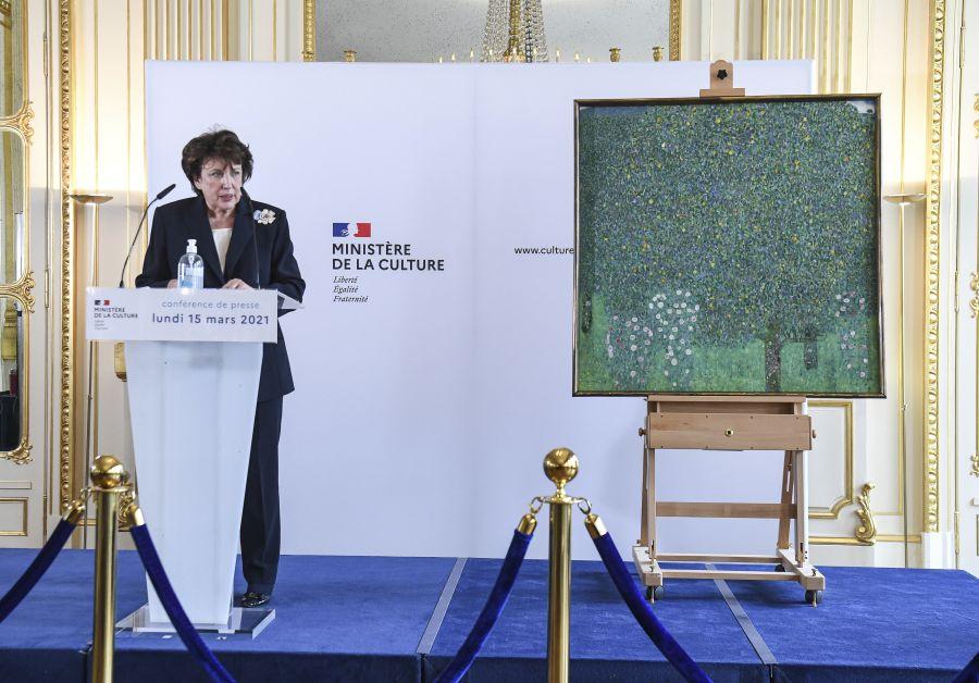 Roselyne Bachelot Klimt