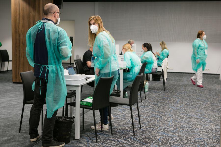 BSK: Veľkokapacitné očkovacie centrum