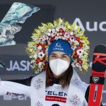 Petra Vlhová je víťazkou obrovského slalomu doma v Jasnej