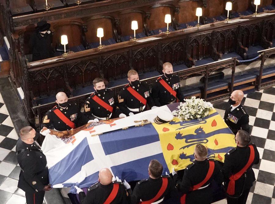 princ philip pohreb alzbeta