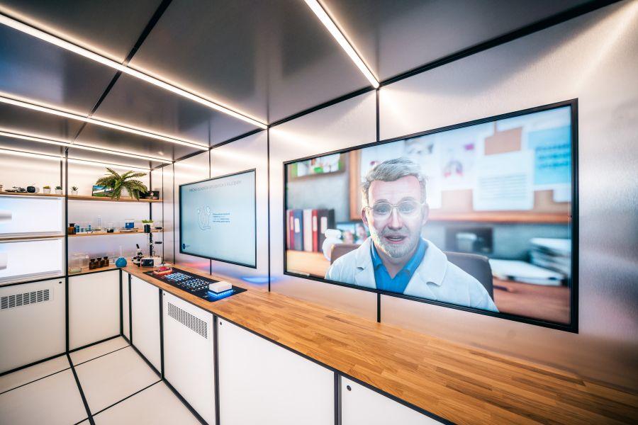 Laboratorium vnutro