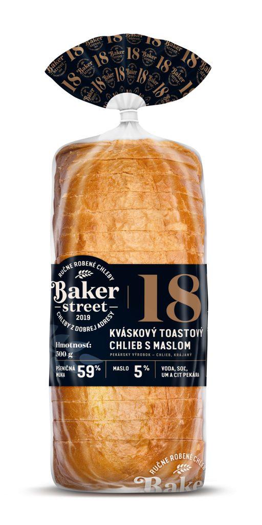 Baker Street kvaskovy toastovy chlieb g